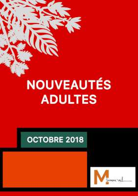 Octobre 2018 - Livres adultes