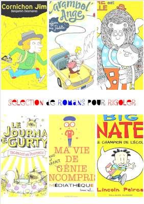 Selection de romans jeunesse pour Rigoler