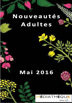 Mai 2016 - Livres adultes